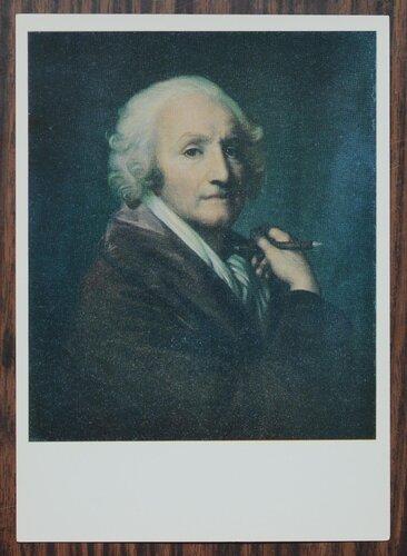 Автопортрет. 1780-е гг.