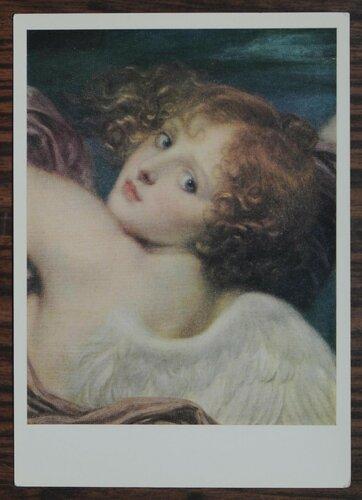 """Голова амура Этюд к картине """"Триумф Гименея"""". 1786 г."""