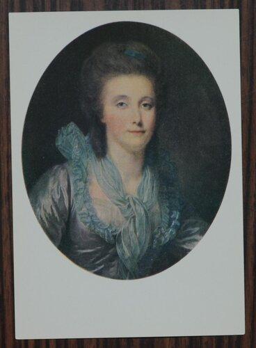 Портрет Е.П.Шуваловой. Ок. 1780 г.