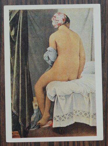 Большая купальщица. 1808