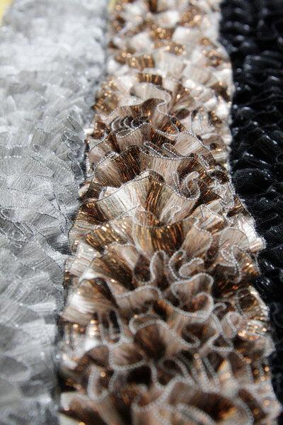 Пряжа горжетка и разные шарфы
