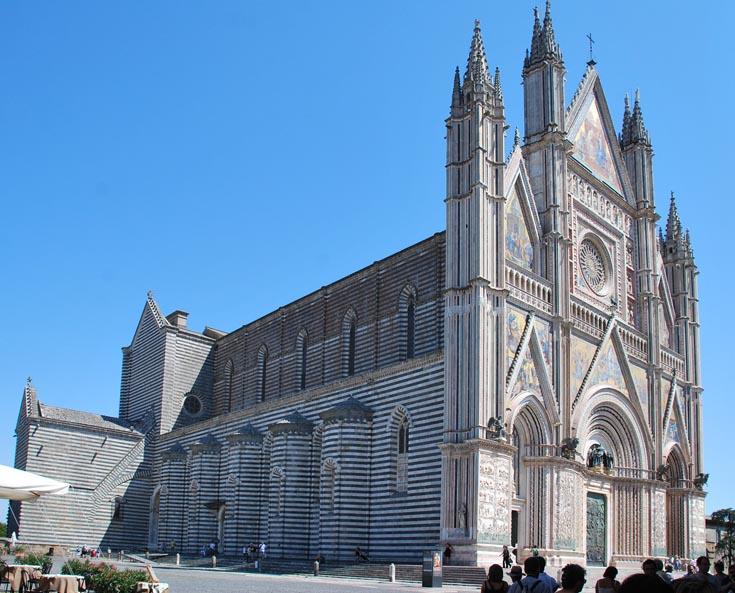 Кафедральный собор в Орвието