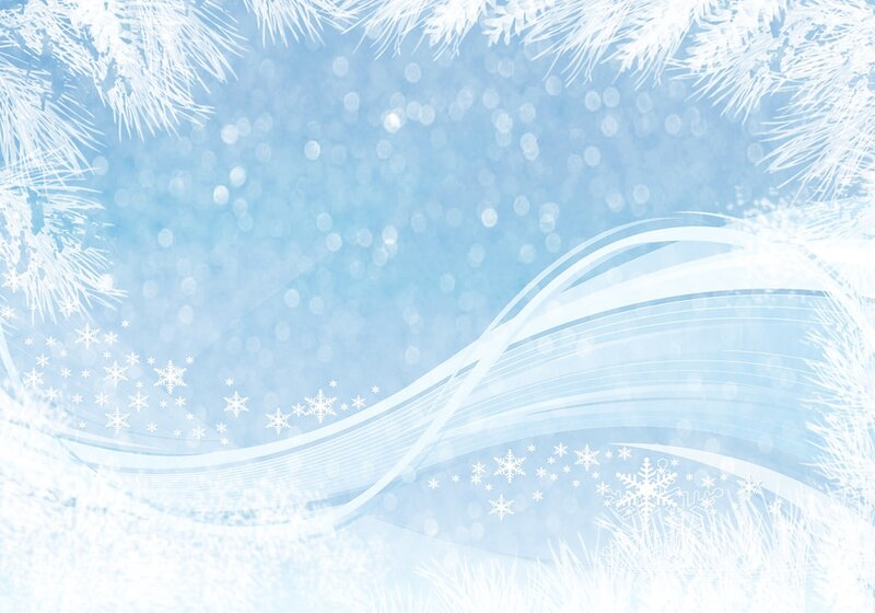 зимние и новогодние фоны