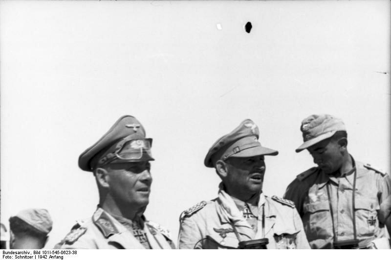 Nordafrika, Erwin Rommel, Bernhard-Hermann Ramcke
