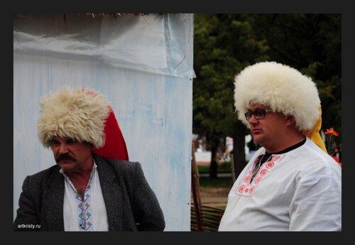 Казаки в Москве