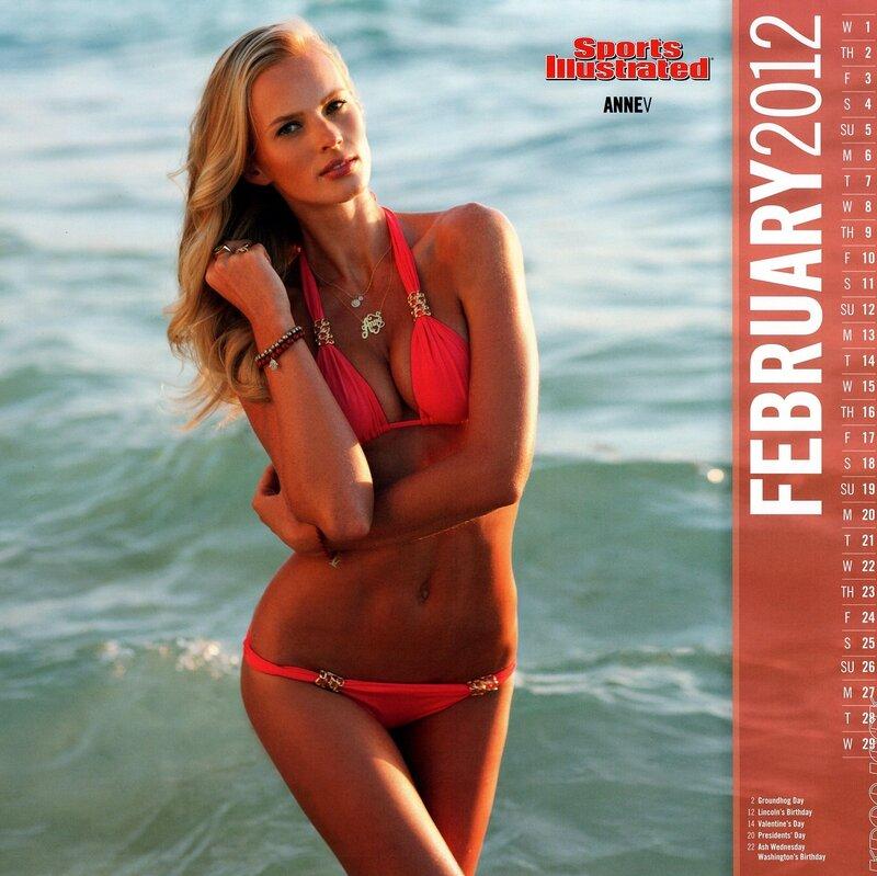 Sports Illustrated Swimsuit Edition 2012 calendar - Anne V / Анна Вьялицына - кликабельно, 9 мегапикселей
