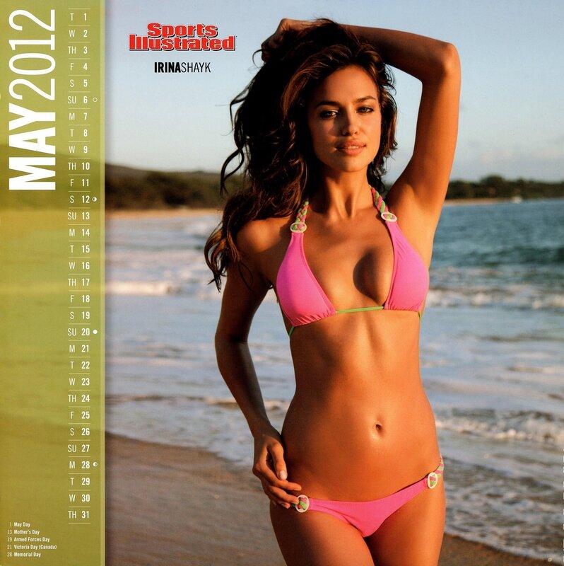 Sports Illustrated Swimsuit Edition 2012 calendar - Irina Shayk / Ирина Шейк - кликабельно, 9 мегапикселей