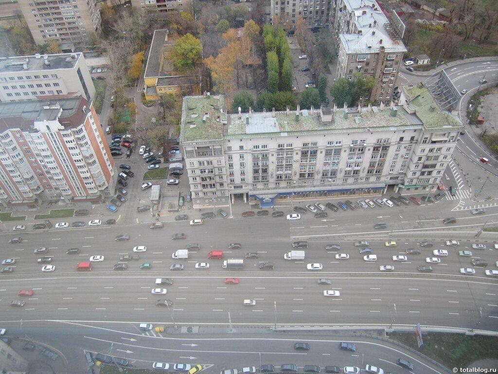 Вид на Москву с Nordstar Tower