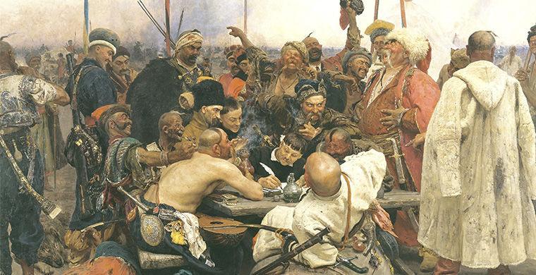 События русской истории в картинах