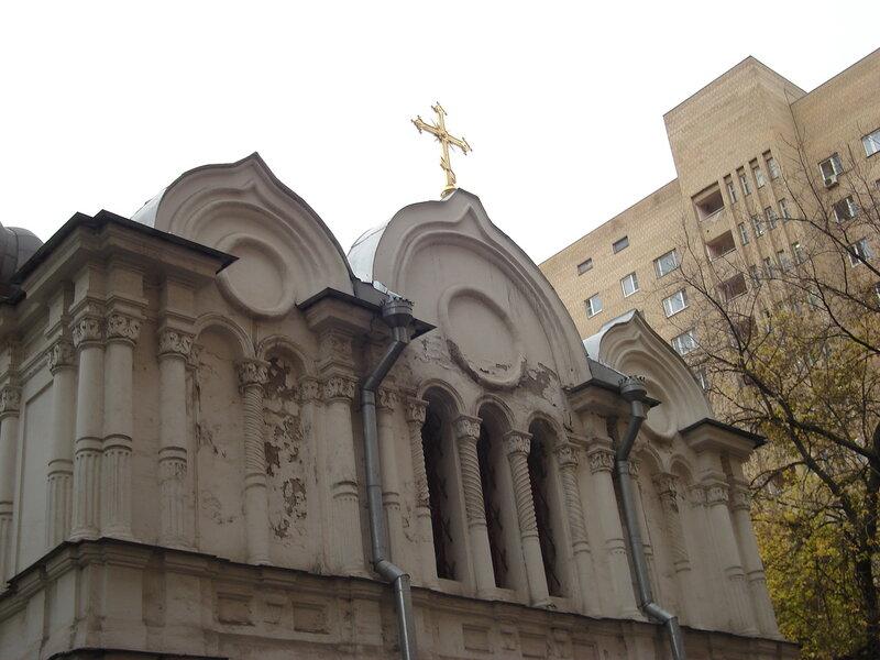 храм прп. Алексия человека Божия 1858г.
