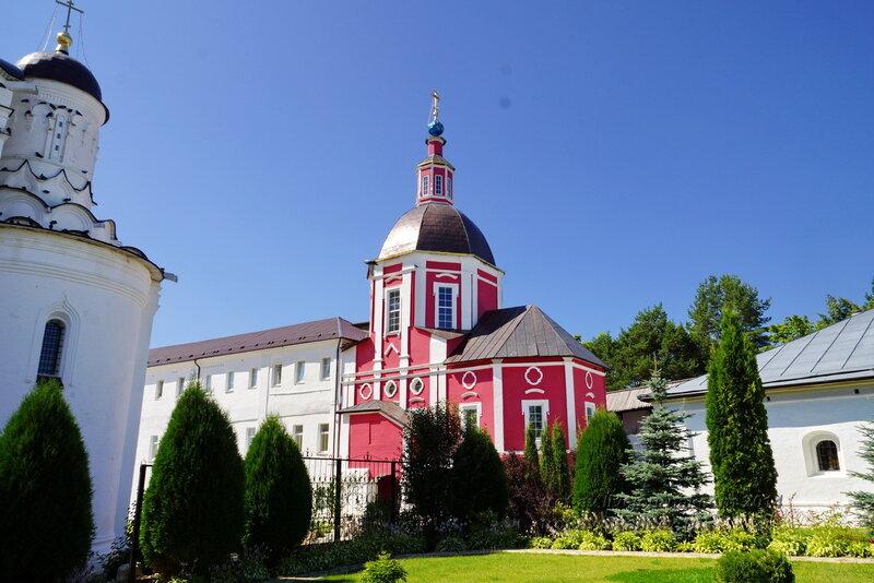 Церковь во имя святителя Митрофана, Патриарха Цареградского, Свято-Пафнутиев Боровский монастырь