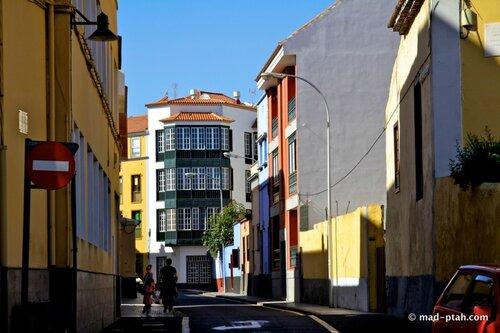 улицы города, ла лагуна, тенерифе