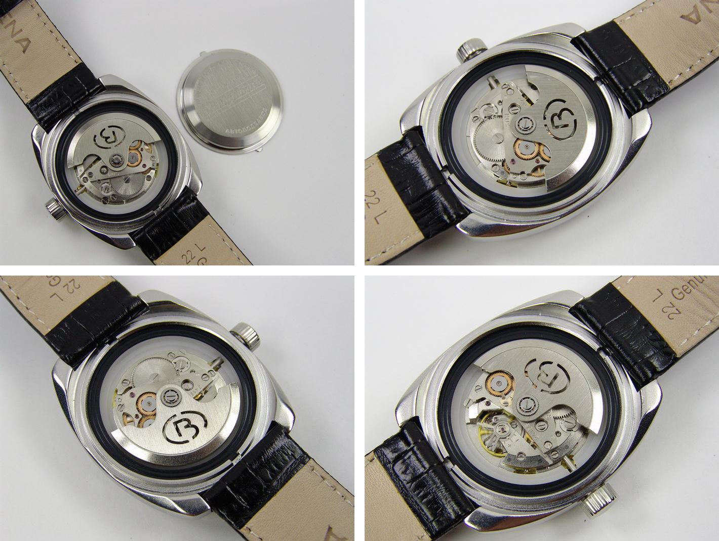 Accuracy of work of Amfibia watches in many respects is obliged to the  Vostok movements,