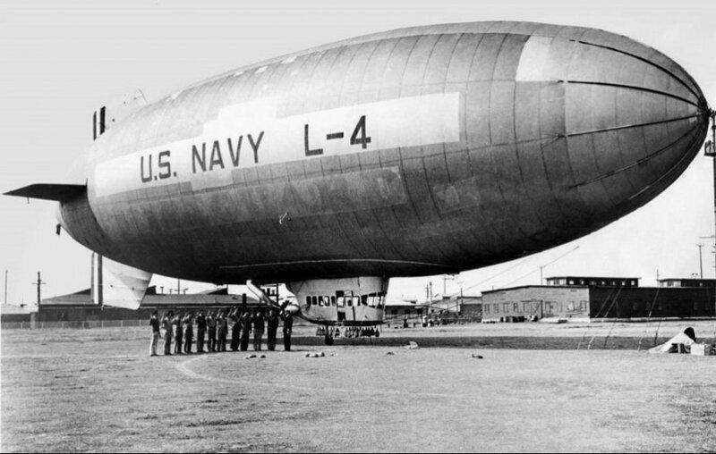 Resolute as U.S. Navy L-4 (photo Goodyear)