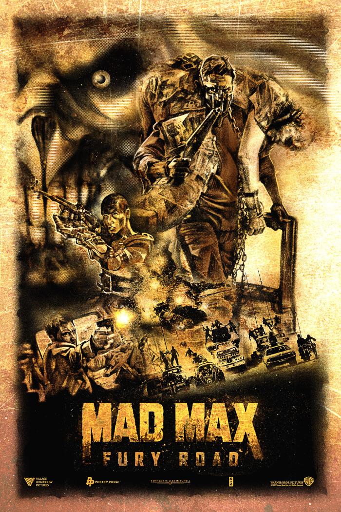 Кинопостеры знаменитой франшизы Mad Max / Безумный Макс. В ожидании премьеры
