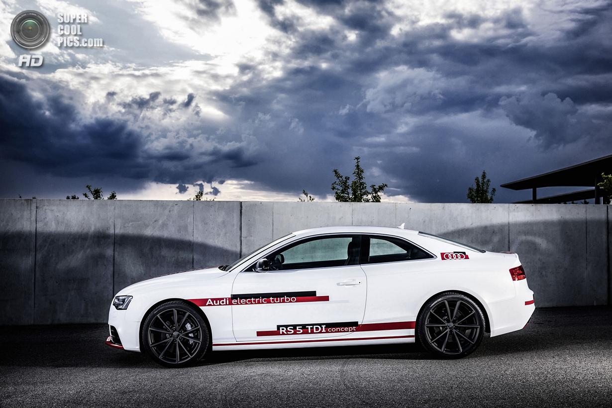 Audi RS5 TDI: Спорткар с электронаддувом (11 фото)