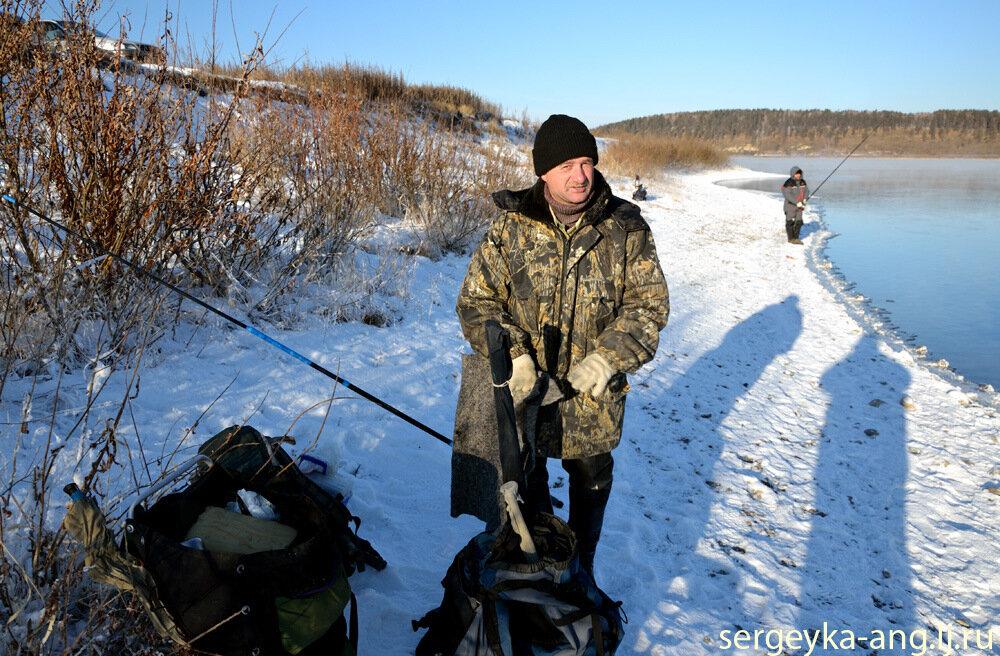 снасти для рыбалки на ангаре в иркутске