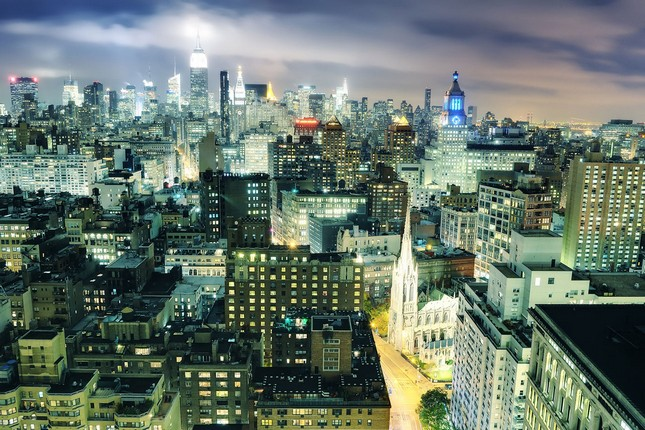 Красивые фотографии Нью-Йорка от Эндрю Картер Мэйса
