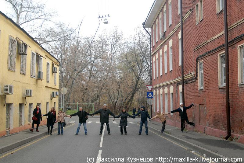Перекрытие Суворовского переулка