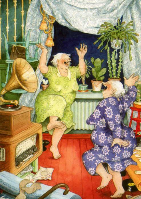 Поздравление бабушке хохотушке