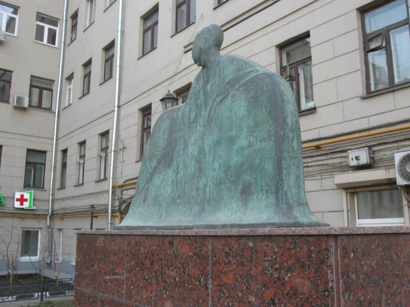 Image result for памятник анне ахматовой на большой ордынке