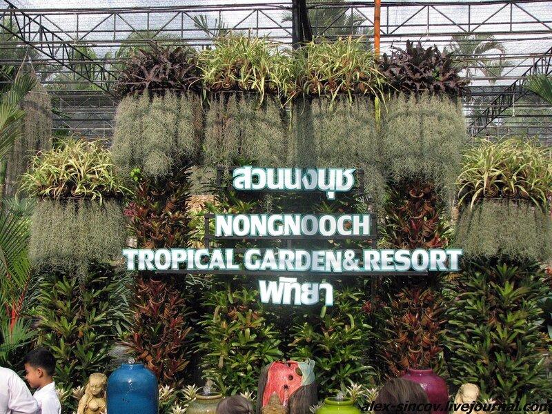 сад тропических растений Нонг Нуч.