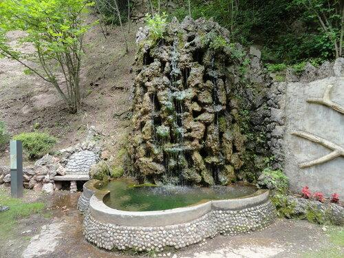 фонтан в садах Артигас