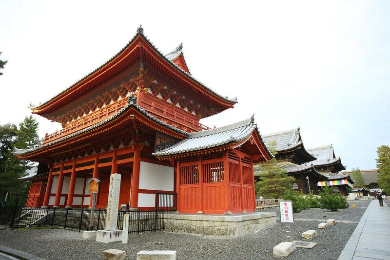Myoshin-ji Храм Mikado