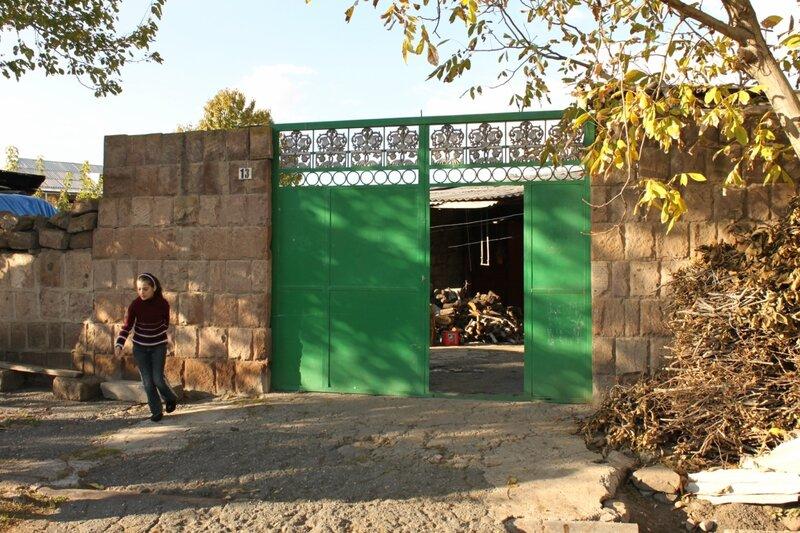 Армения. Крестьянский двор