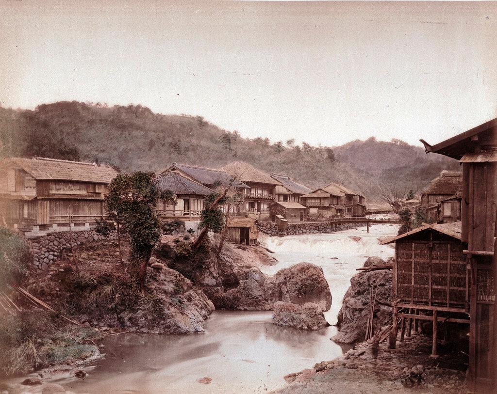 Никко. Река Дайягава, 1883