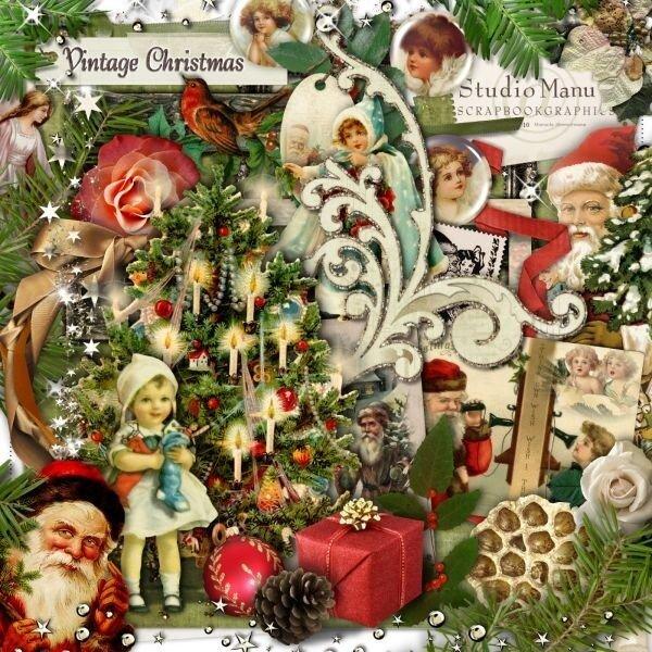 винтажное рождество