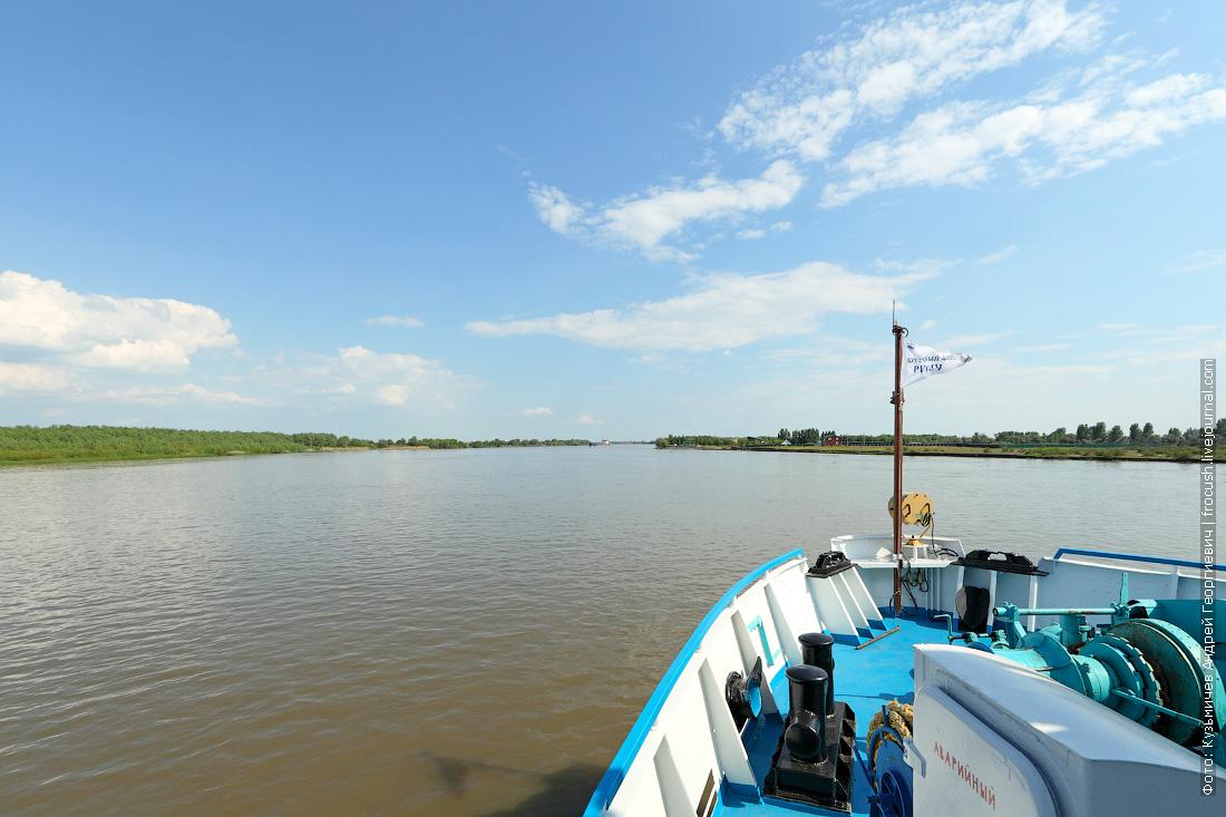 круиз в Казахстан на теплоходе по реке Бахтемир