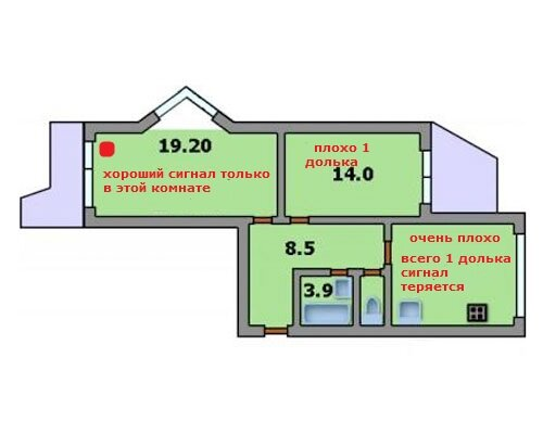 В подъездах функционируют грузопассажирский и пассажирский лифты (500 и 350 кг).
