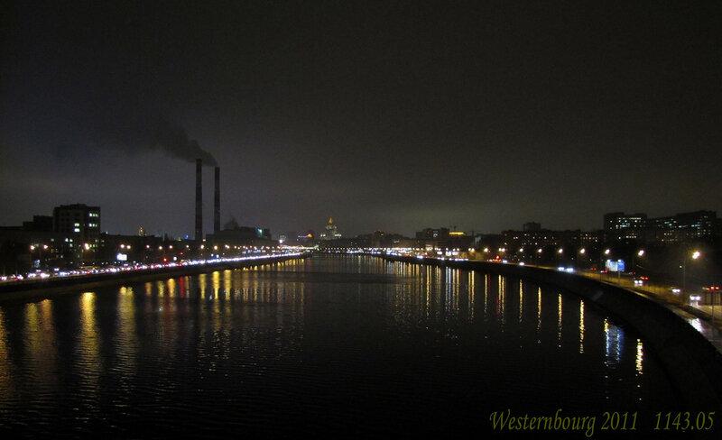 1143.05 Вид на Москву-реку с Лужнецкого железнодорожного моста
