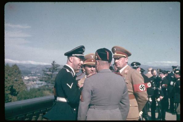 Adolf Hitler;Heinrich Himmler;Joseph Goebbels;Benito Mussolini