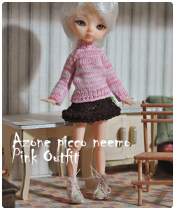 Pink outfit for Azone Picco Neemo M