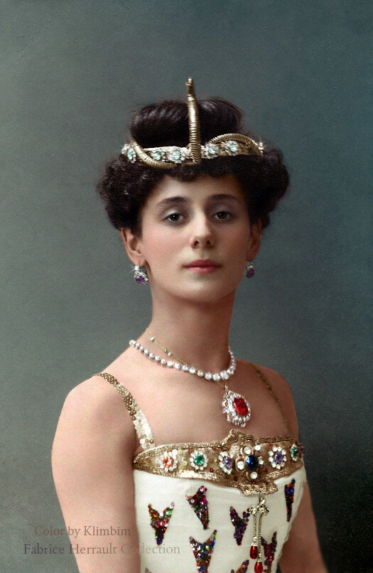 Anna Pavlova in The Pharaoh's Daughter, 1910