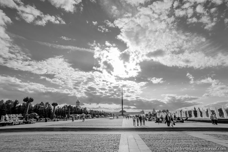 площадь победы в москве