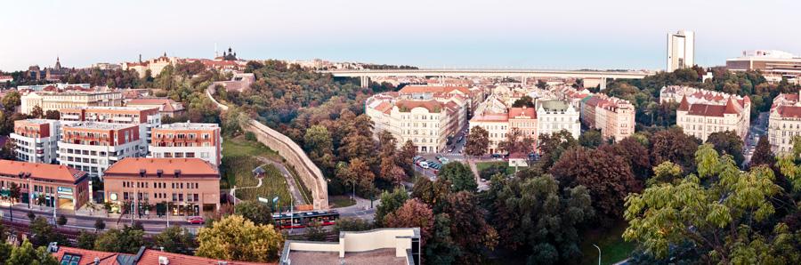 Панорама Вышеград Прага