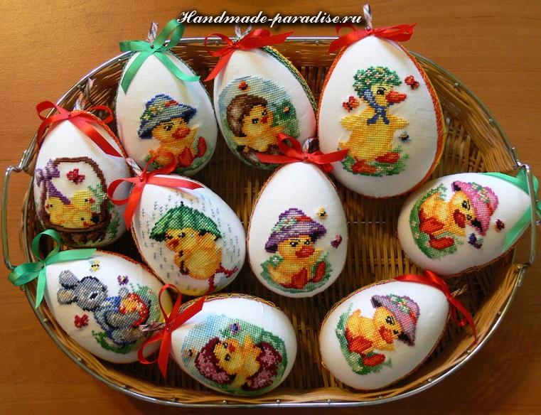 как сделать пасхальные яйца своими руками