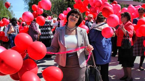 9 мая 2015 года. Митинг в честь 70-летия Великой Победы