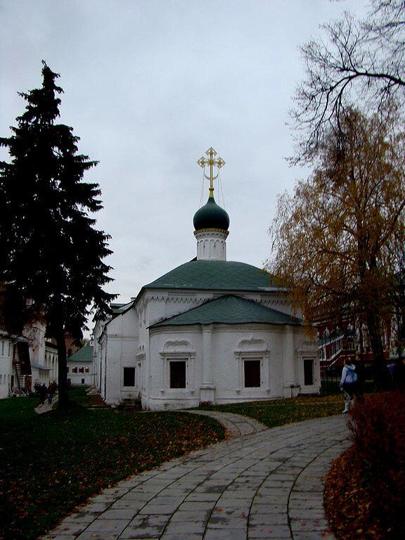 Новодевичий монастырь, Москва.
