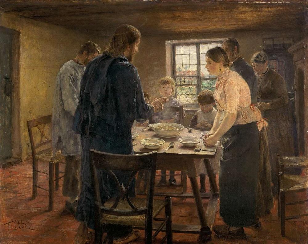 1 Christ with a Farm Family (ca. 1887–88) by Fritz von Uhde  .jpg