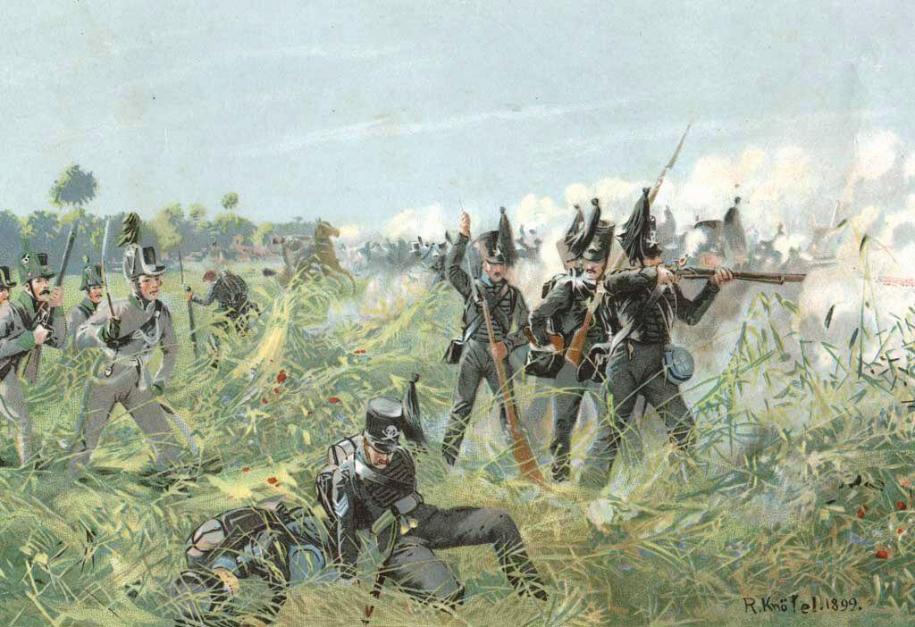 Die Braunschweiger bei Quatre Bras 1815.jpg