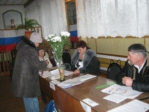 4 декабря 2011г. На Рябчинском избирательном участке.