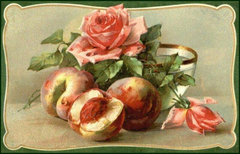 К. Кляйн. Розы и персики.