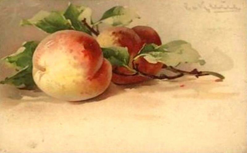 К. Кляйн. Персики.