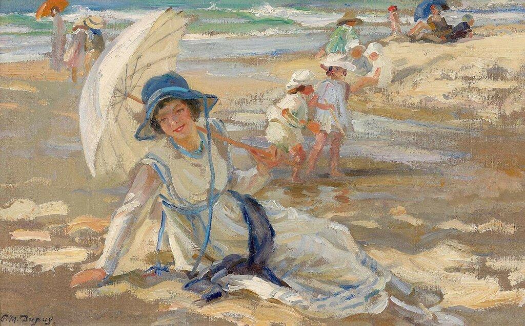 Paul Michel Dupuy -  At the Beach  - 37510-121.jpg