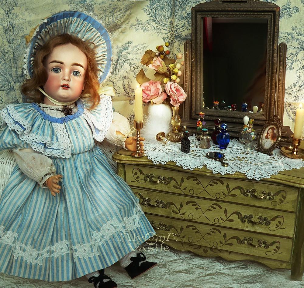 Сделать, открытки со старинными куклами