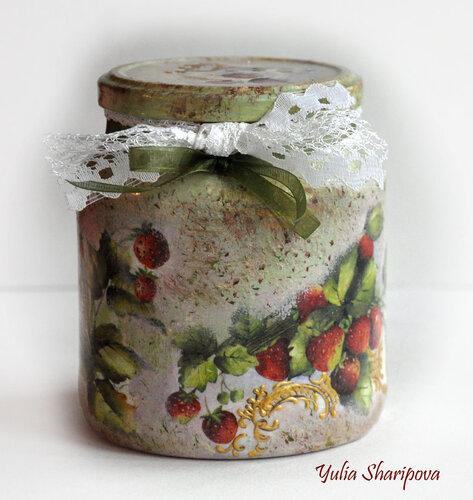 """Баночка Земляничная """"Бабушкино Варенье"""""""